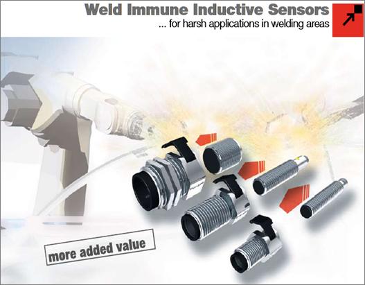 Weld Immune Sensor Weld Immune Inductive Sensors