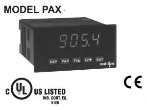 PAX red lion panel meter