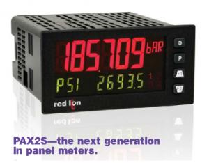 Digital Panel Meter PAX2S red lion