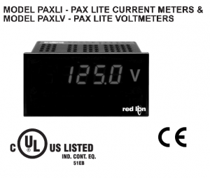 Digital Panel Meter PAXLI PAXLV RED LION