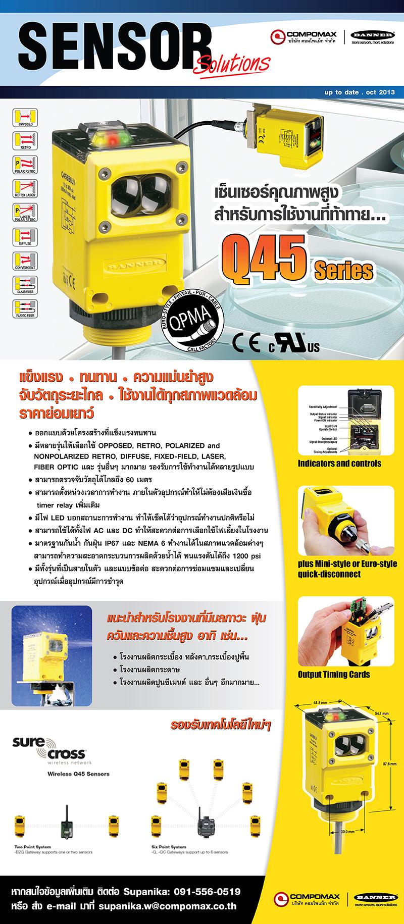 Sensor Solution BANNER Q45
